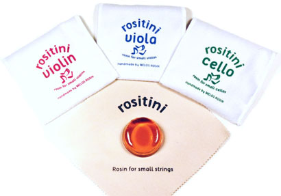 rositini rosin for violin, viola and cello