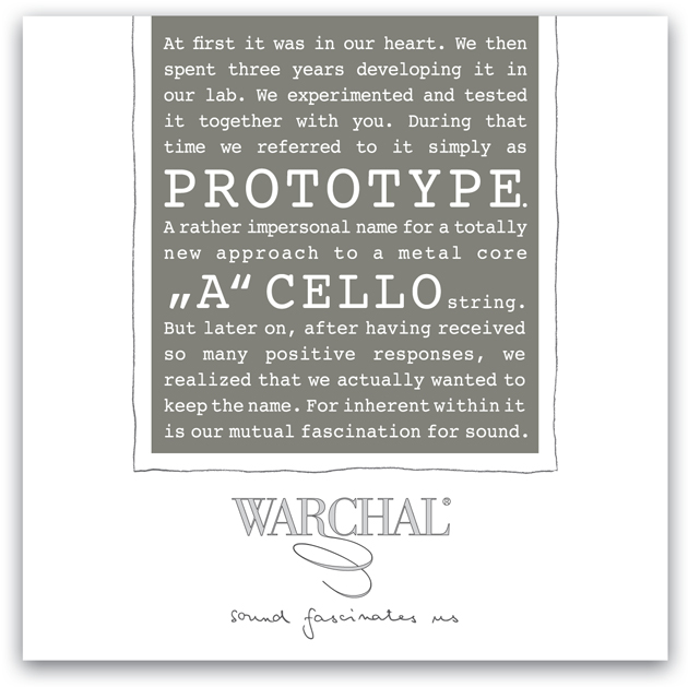 Warchal Prototype Cello A String